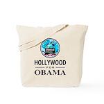 HOLLYWOOD FOR OBAMA Tote Bag