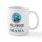 HOLLYWOOD FOR OBAMA Mug