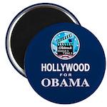 HOLLYWOOD FOR OBAMA Magnet