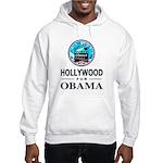 HOLLYWOOD FOR OBAMA Hooded Sweatshirt