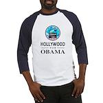 HOLLYWOOD FOR OBAMA Baseball Jersey