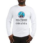 HOLLYWOOD FOR OBAMA Long Sleeve T-Shirt