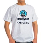 HOLLYWOOD FOR OBAMA Light T-Shirt