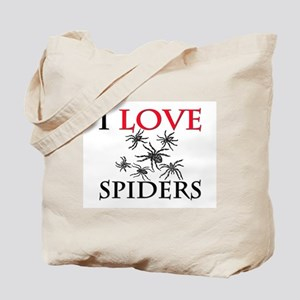 I Love Spiders Tote Bag