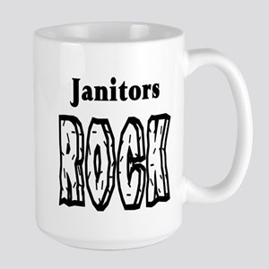 Janitors Rock Large Mug
