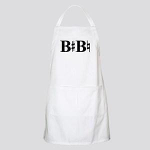 B Sharp B Natural BBQ Apron