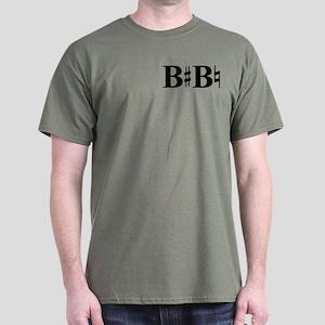 B Sharp B Natural Dark T-Shirt