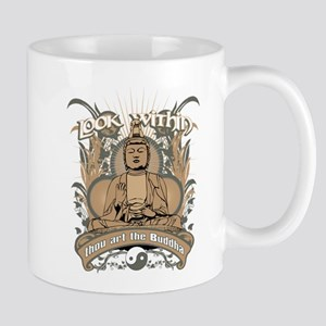 Look Within Buddha Mug