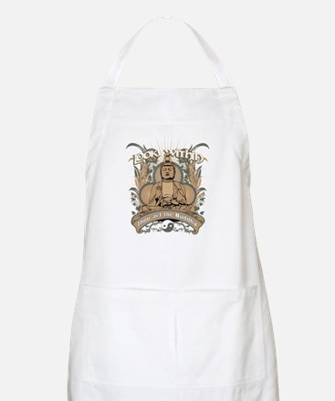Look Within Buddha BBQ Apron