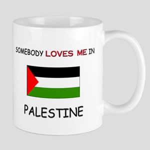 Somebody Loves Me In PALESTINE Mug