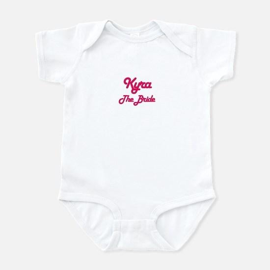 Kyra - The Bride Infant Bodysuit