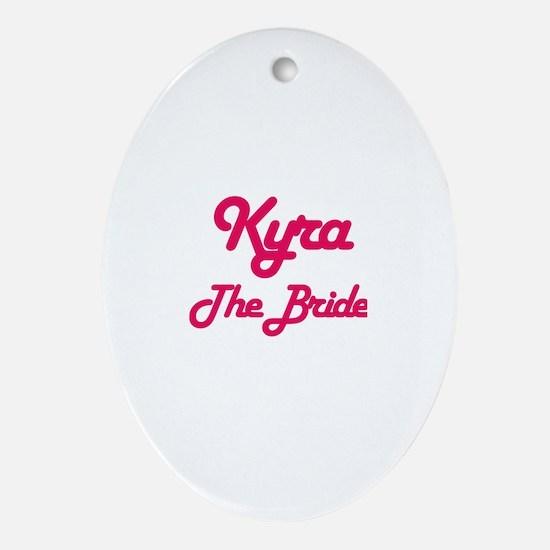 Kyra - The Bride Oval Ornament