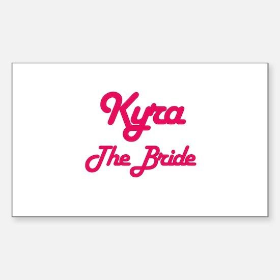 Kyra - The Bride Rectangle Decal