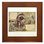 Suffrage Parade 1913 Framed Tile