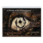 12 Months of Eye Manipulations Wall Calendar