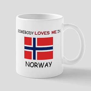 Somebody Loves Me In NORWAY Mug