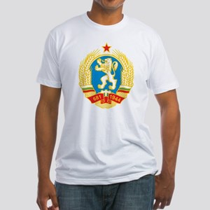 Bulgaria Coat Of Arms 1971 Fitted T-Shirt