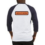 Men at Work (Back) Baseball Jersey