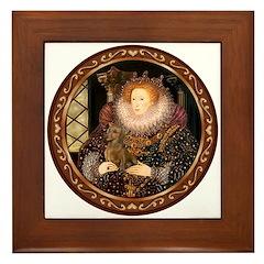 Queen / Dachshund #1 Framed Tile