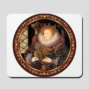 Queen / Dachshund #1 Mousepad