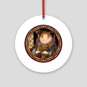 Queen / Dachshund #1 Ornament (Round)