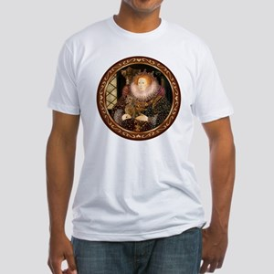 Queen / Dachshund #1 Fitted T-Shirt