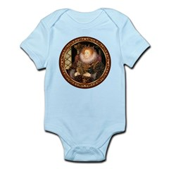 Queen / Dachshund #1 Infant Bodysuit