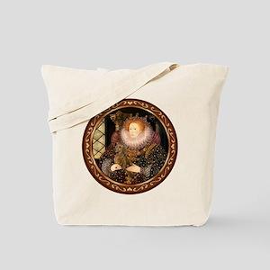 Queen / Dachshund #1 Tote Bag