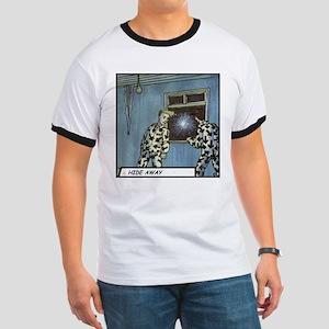'Hide Away' Ringer T-Shirt