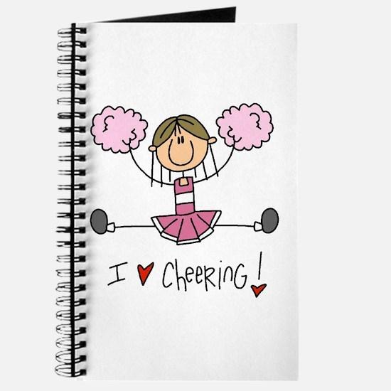 Pink Love Cheering Journal