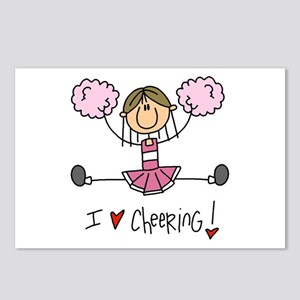 Pink Love Cheering Postcards (Package of 8)