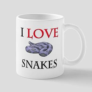 I Love Snakes Mug