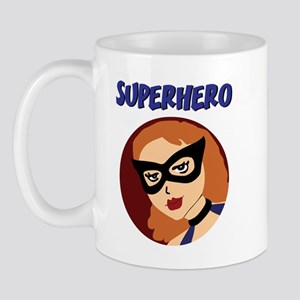 Retro Superhero Betty Mug