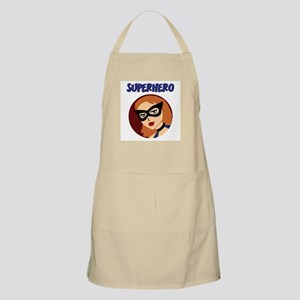 Retro Superhero Betty BBQ Apron