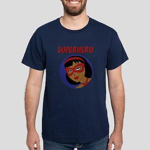Retro Superhero Julie Dark T-Shirt