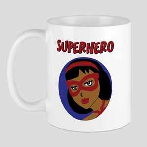 Retro Superhero Julie Mug