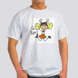 Orange Cheerleader Light T-Shirt