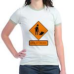 Men at Work 2 Jr. Ringer T-Shirt