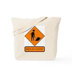 Men at Work Sign 2 - Tote Bag