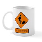 Men at Work Sign 2 - Mug
