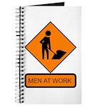 Men at Work Sign 2 - Journal