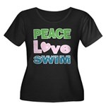 peace.love.swim Plus Size T-Shirt