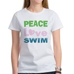 peace.love.swim T-Shirt