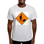 Men at Work 3 Ash Grey T-Shirt