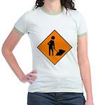 Men at Work 3 Jr. Ringer T-Shirt