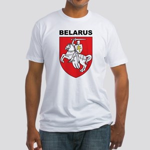 Belarus Fitted T-Shirt