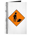 Men at Work Sign 3 - Journal