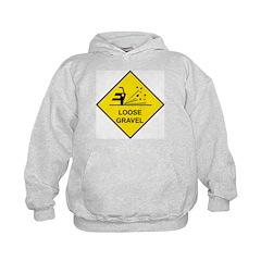 Yellow Loose Gravel Sign - Hoodie