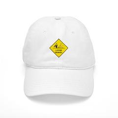 Yellow Loose Gravel Sign - Cap