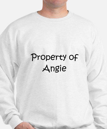 Cute Property of angie Sweatshirt